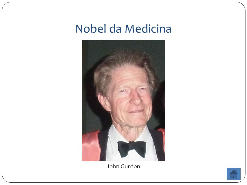Nobel da Medicina John Gurdon