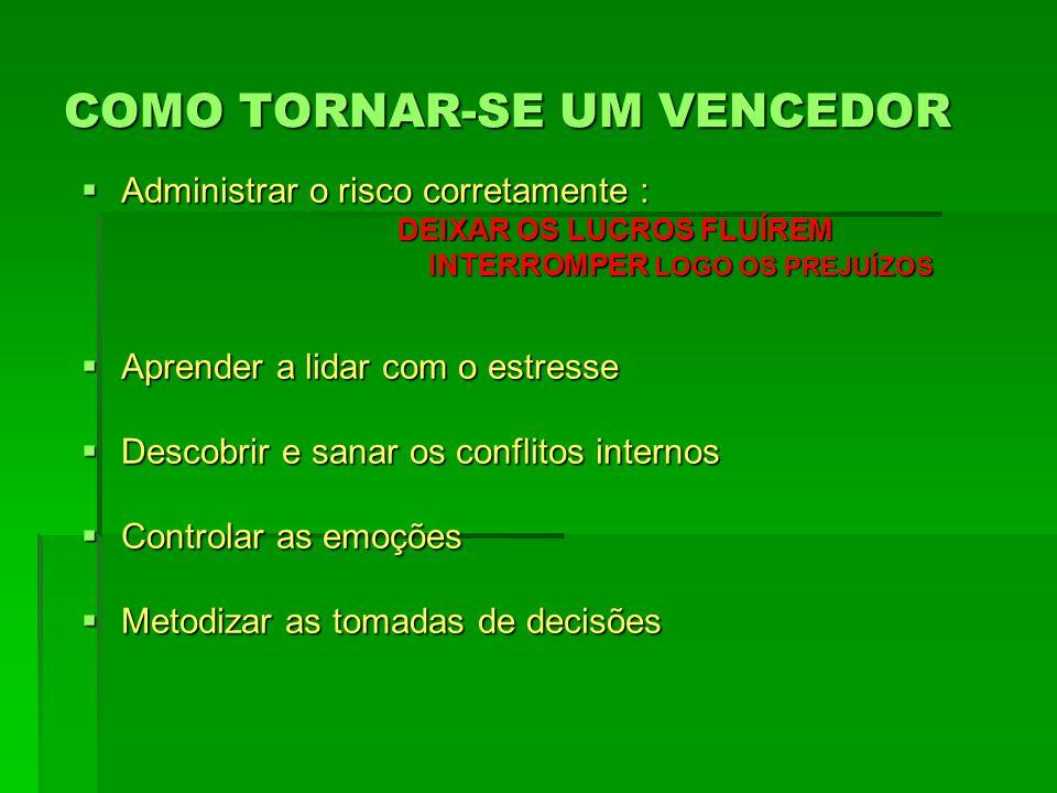 COMO TORNAR-SE UM VENCEDOR