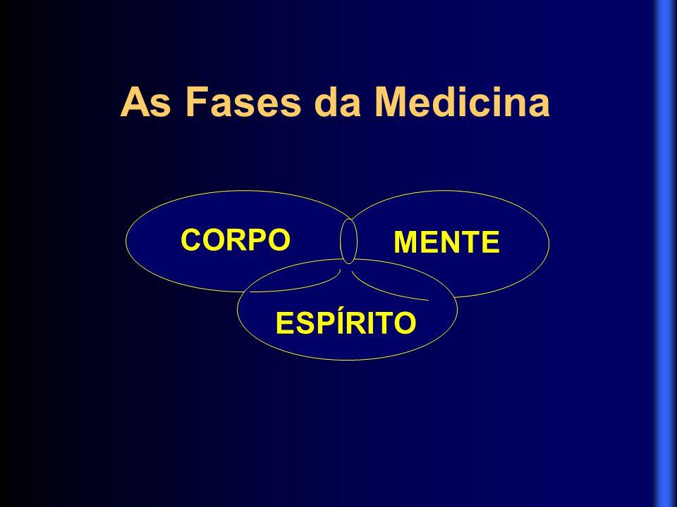 As Fases da Medicina CORPO MENTE ESPÍRITO