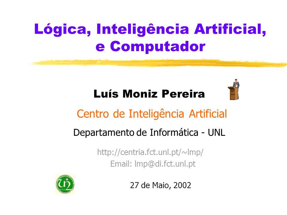 Lógica, Inteligência Artificial, e Computador