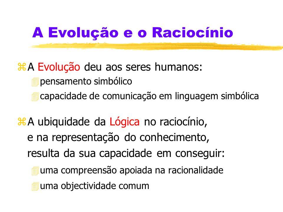A Evolução e o Raciocínio