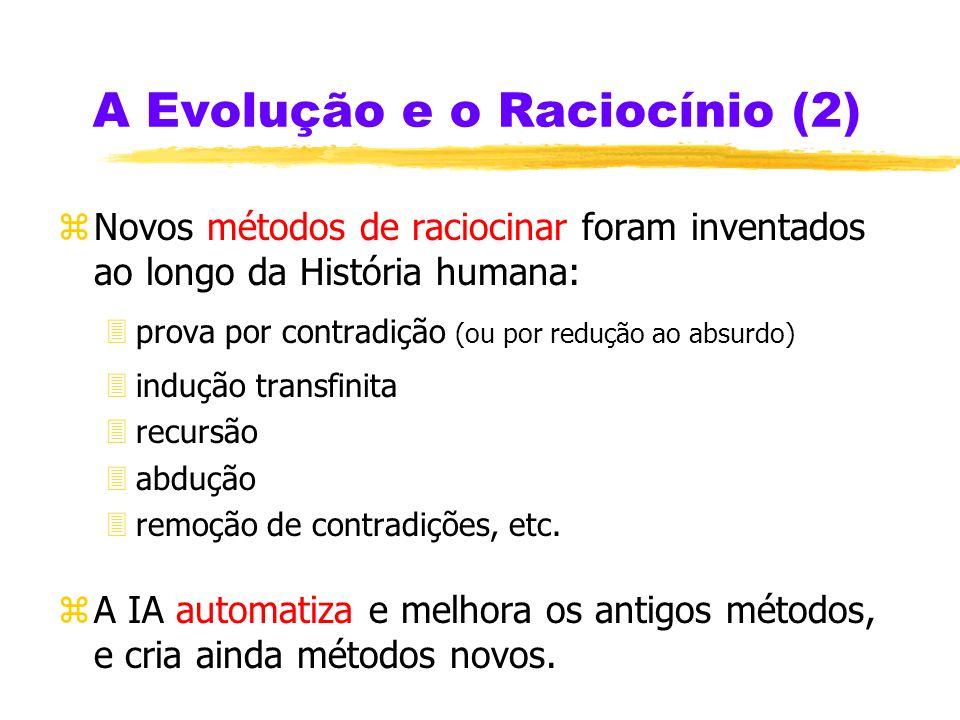 A Evolução e o Raciocínio (2)