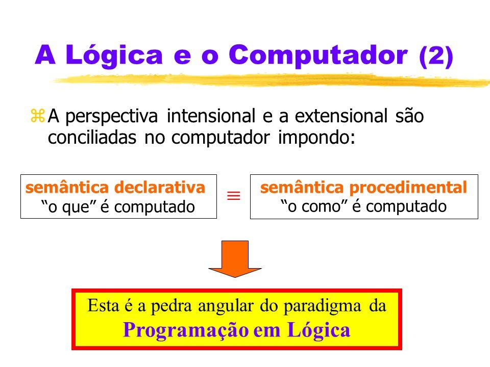 A Lógica e o Computador (2)