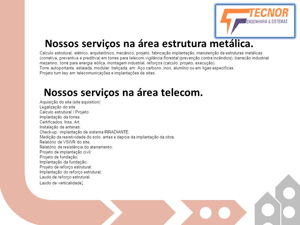 Nossos serviços na área estrutura metálica.