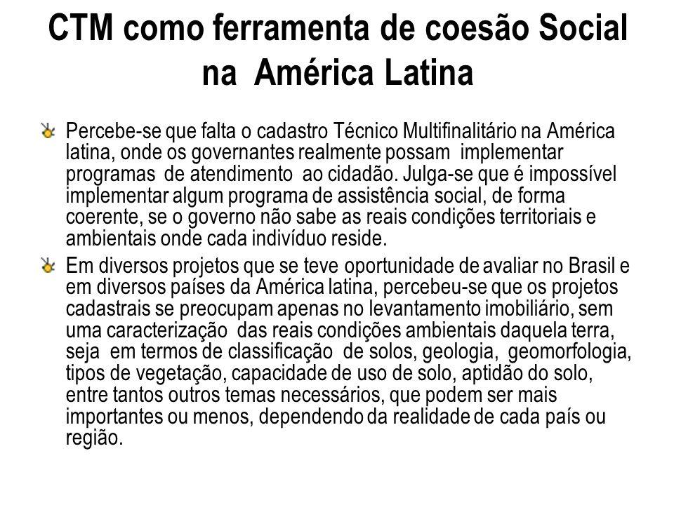 CTM como ferramenta de coesão Social na América Latina