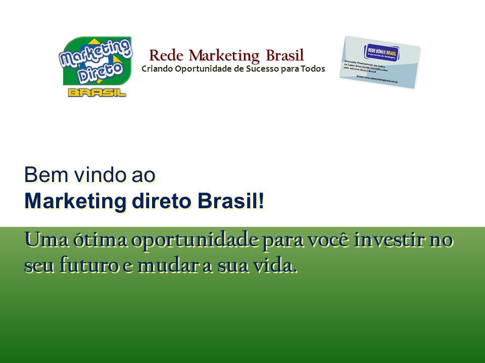 Bem vindo ao Marketing direto Brasil!