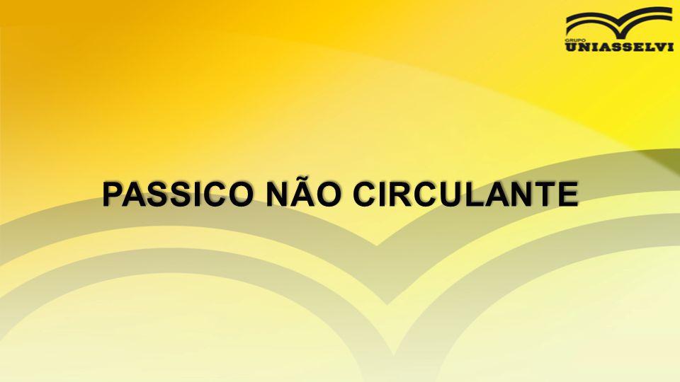 PASSICO NÃO CIRCULANTE