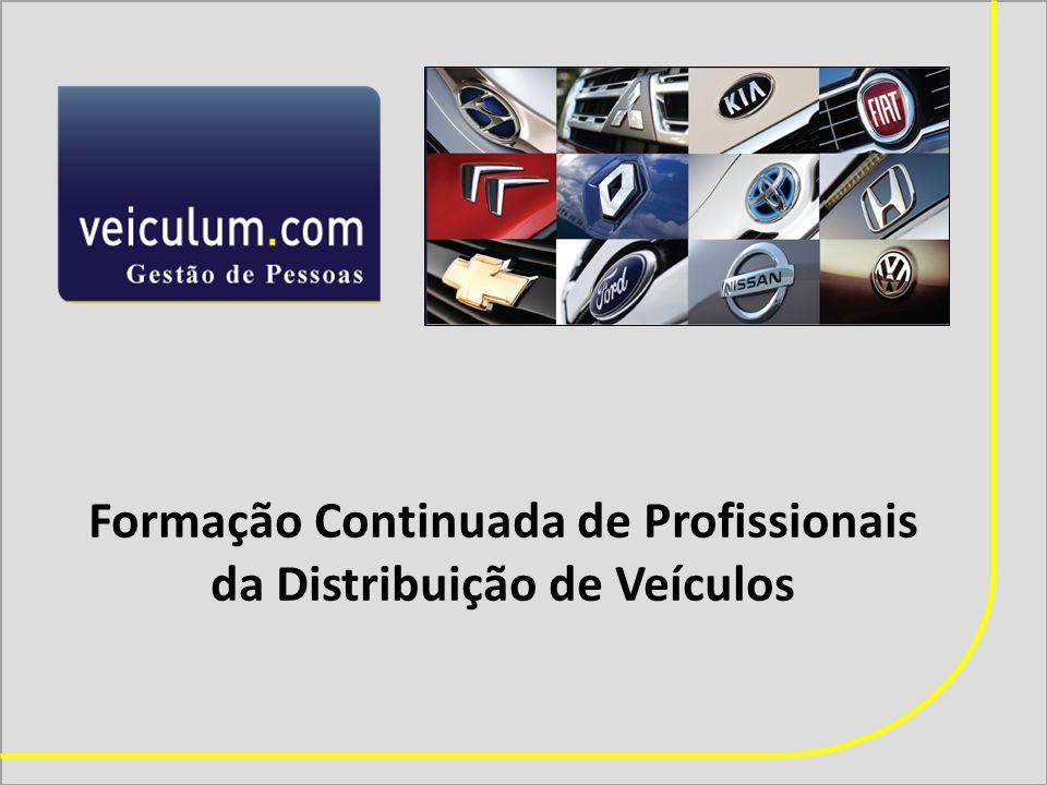 Formação Continuada de Profissionais da Distribuição de Veículos