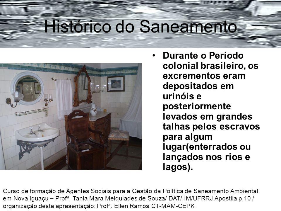 Histórico do Saneamento