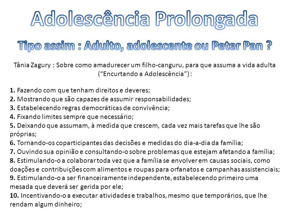 Adolescência Prolongada
