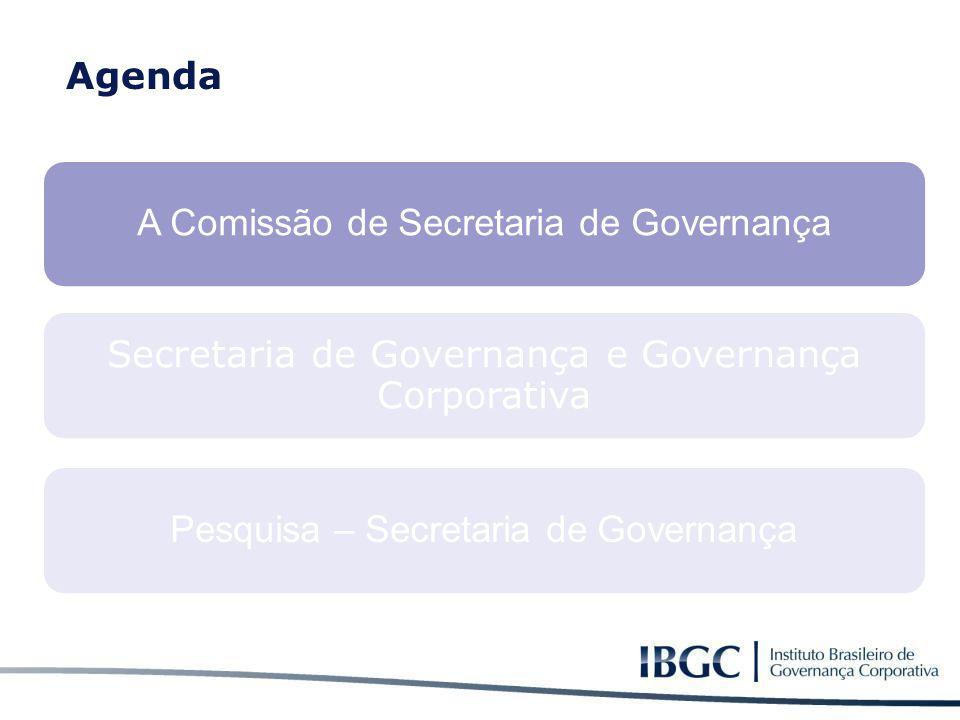 A Comissão de Secretaria de Governança