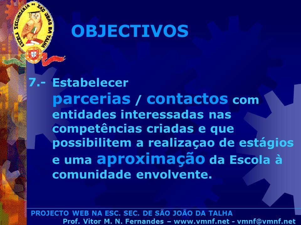 OBJECTIVOS 7.-