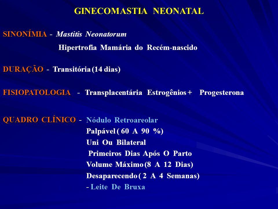 GINECOMASTIA NEONATAL