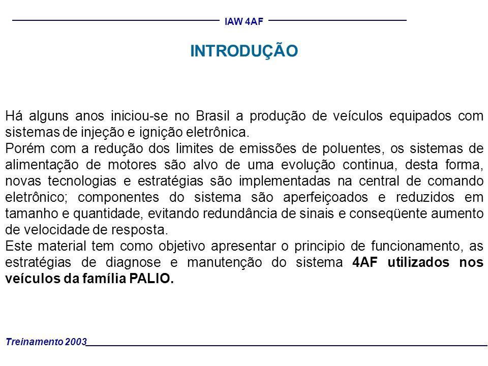 INTRODUÇÃO Há alguns anos iniciou-se no Brasil a produção de veículos equipados com sistemas de injeção e ignição eletrônica.