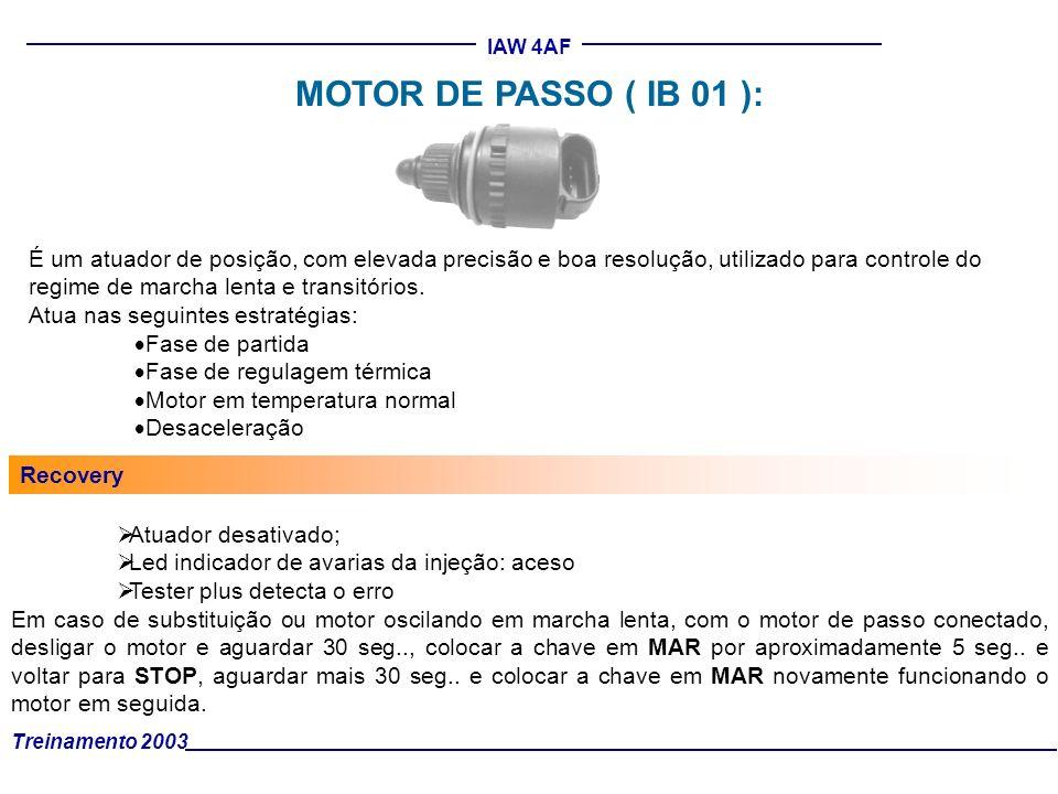 MOTOR DE PASSO ( IB 01 ):