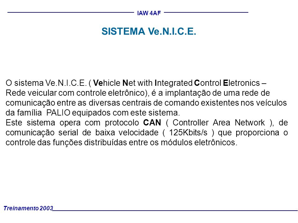 SISTEMA Ve.N.I.C.E.
