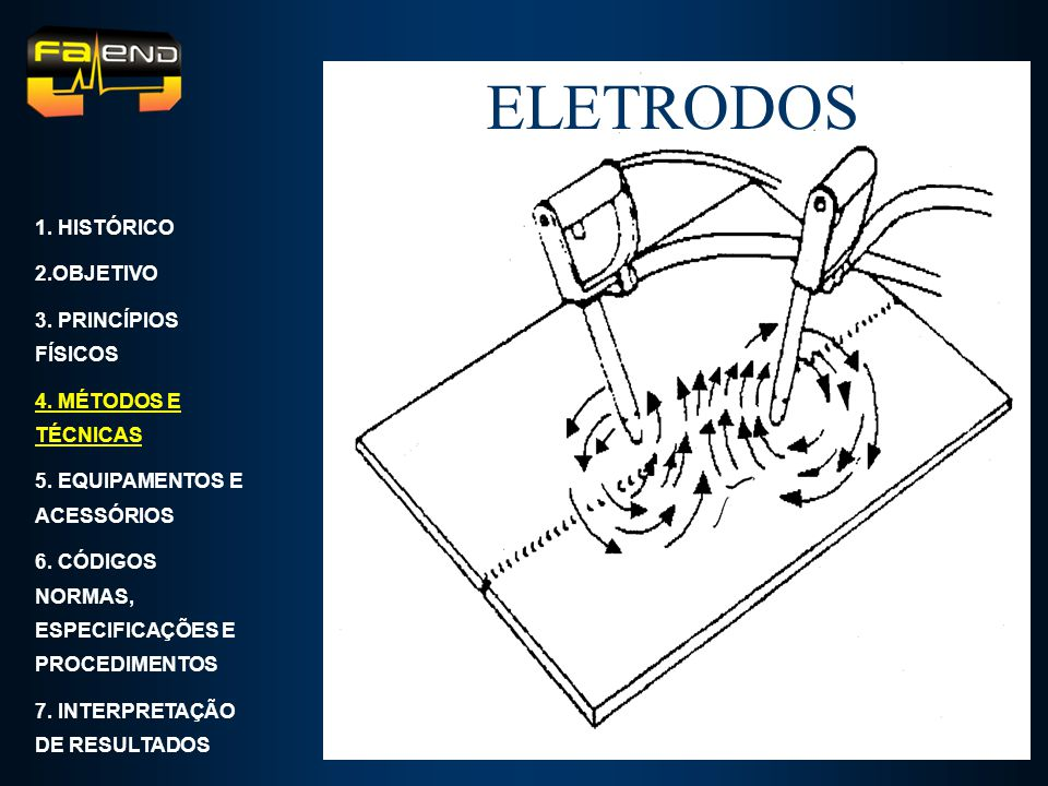 ELETRODOS 1. HISTÓRICO 2.OBJETIVO 3. PRINCÍPIOS FÍSICOS
