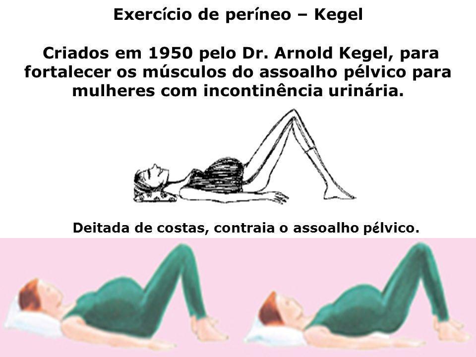 Exercício de períneo – Kegel