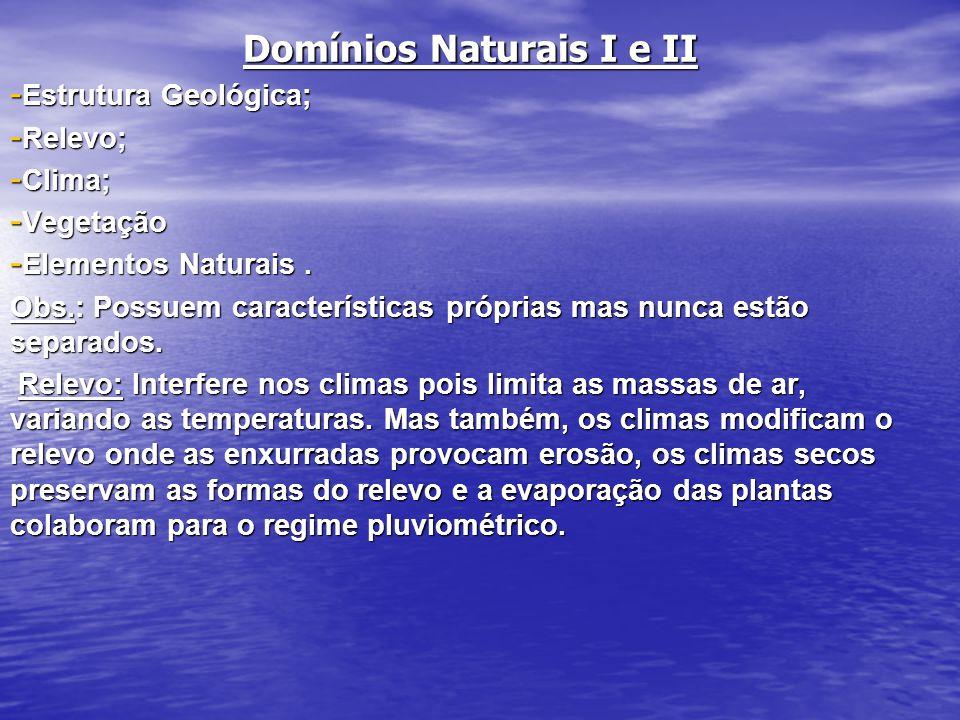 Domínios Naturais I e II