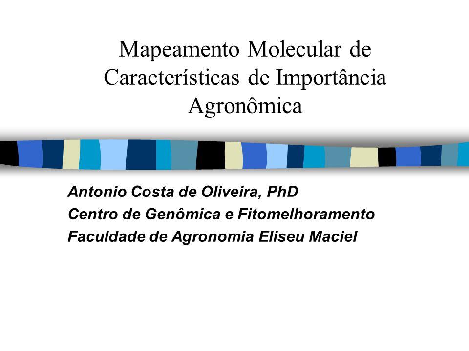 Mapeamento Molecular de Características de Importância Agronômica