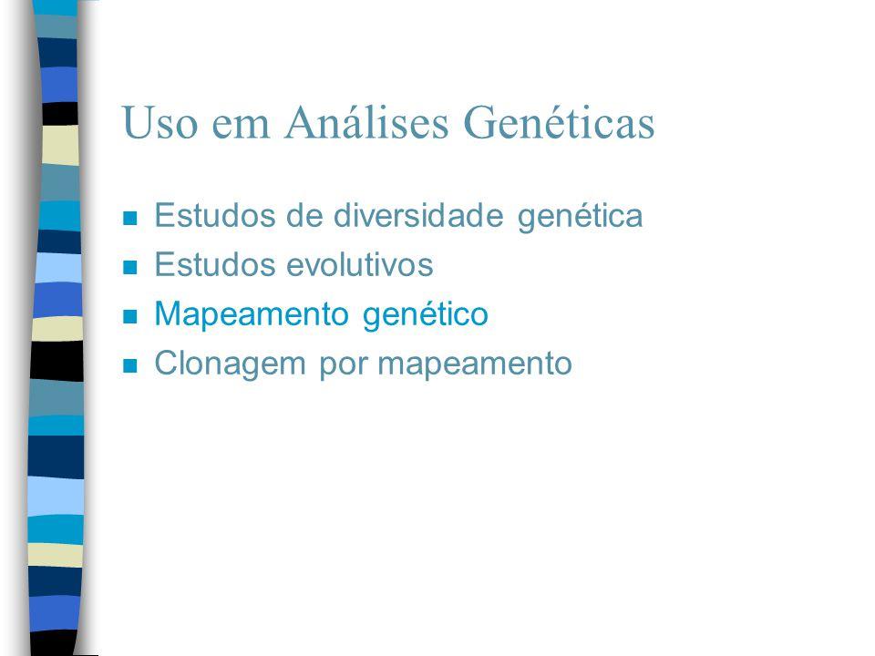 Uso em Análises Genéticas