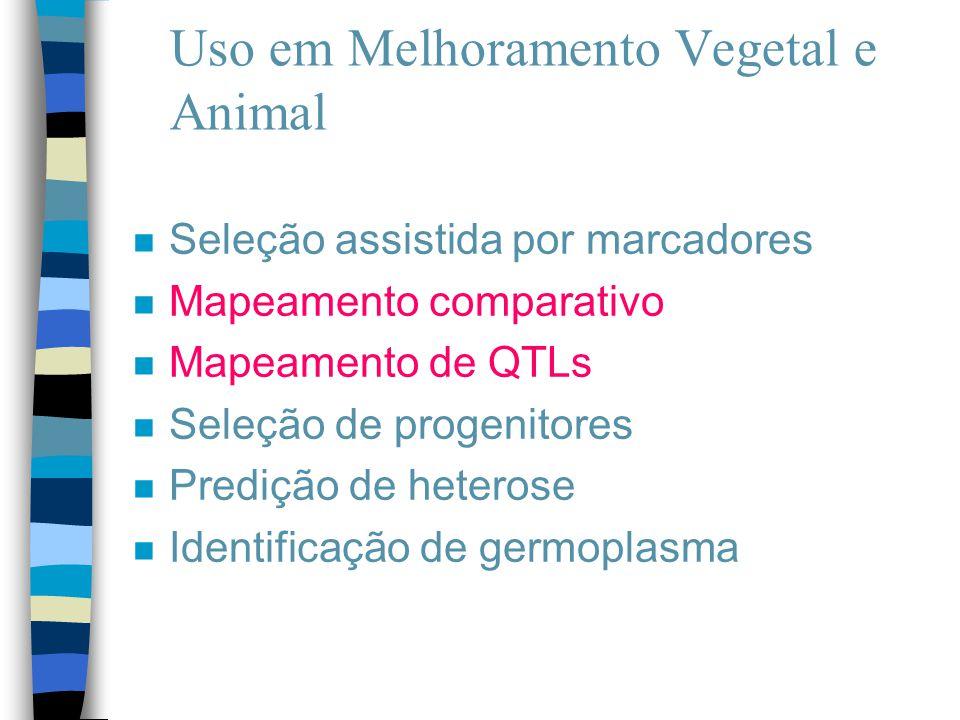 Uso em Melhoramento Vegetal e Animal