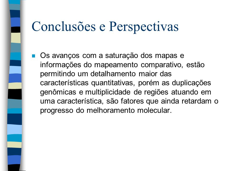 Conclusões e Perspectivas