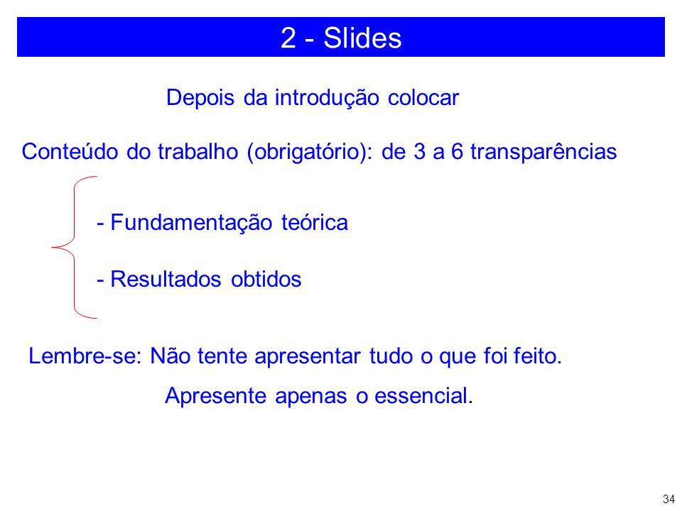 2 - Slides Depois da introdução colocar