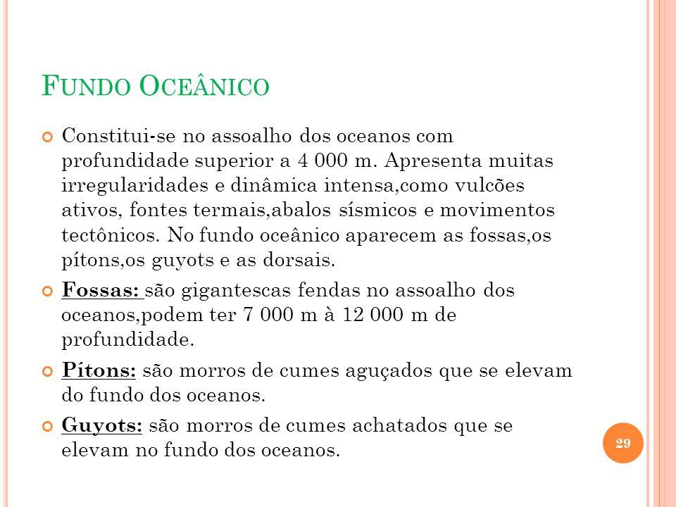 Fundo Oceânico