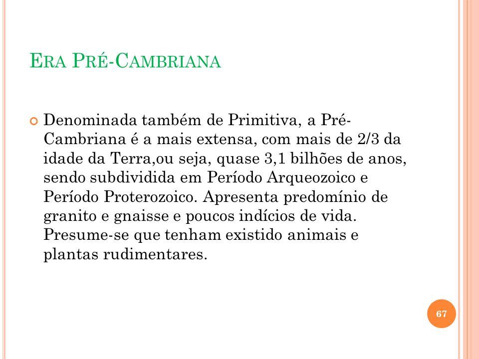 Era Pré-Cambriana