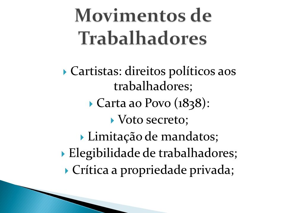 Movimentos de Trabalhadores