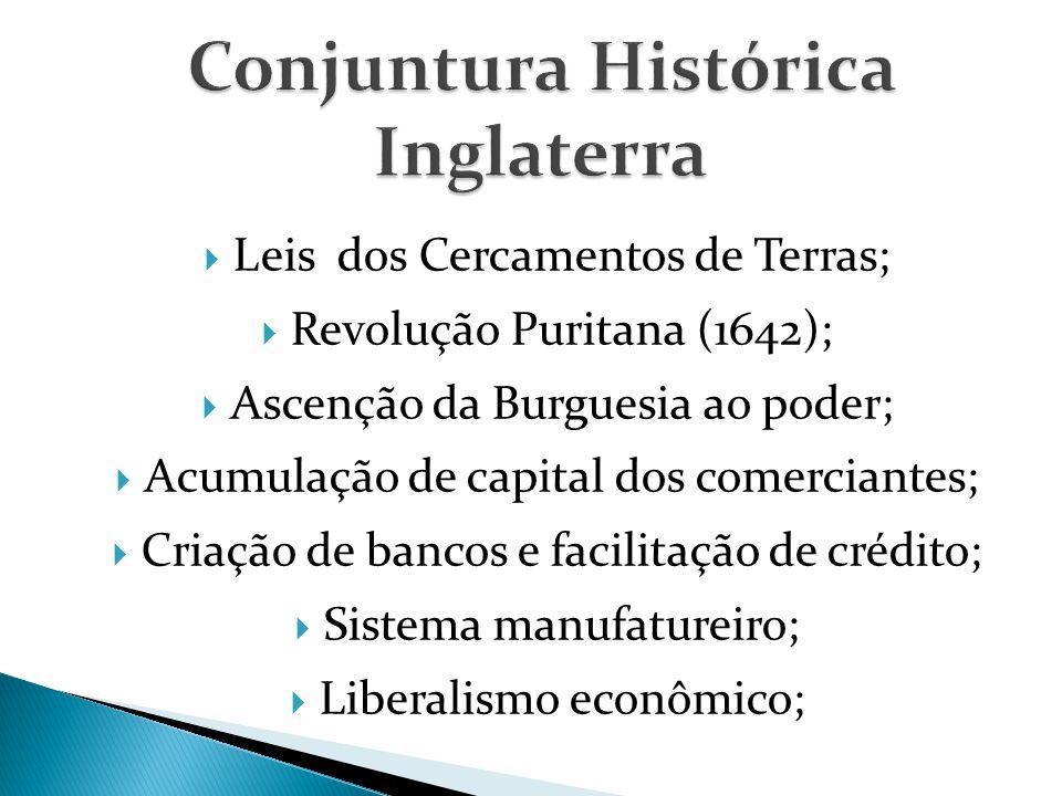 Conjuntura Histórica Inglaterra