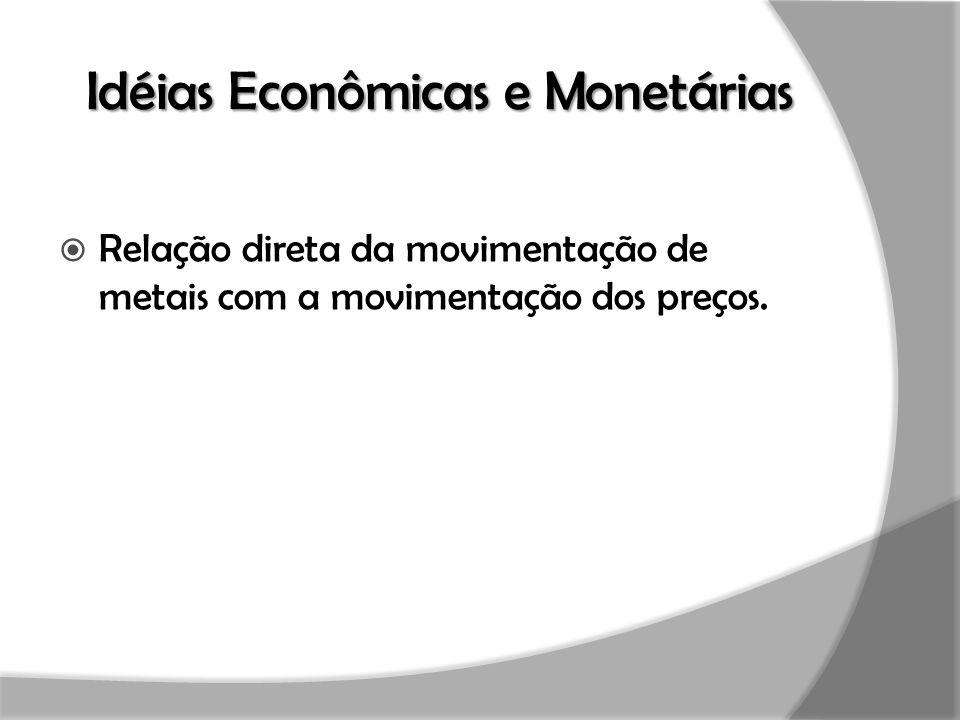Idéias Econômicas e Monetárias