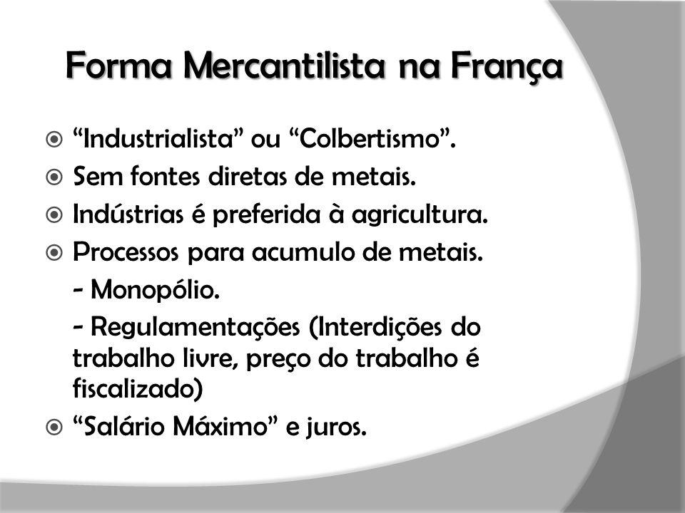 Forma Mercantilista na França