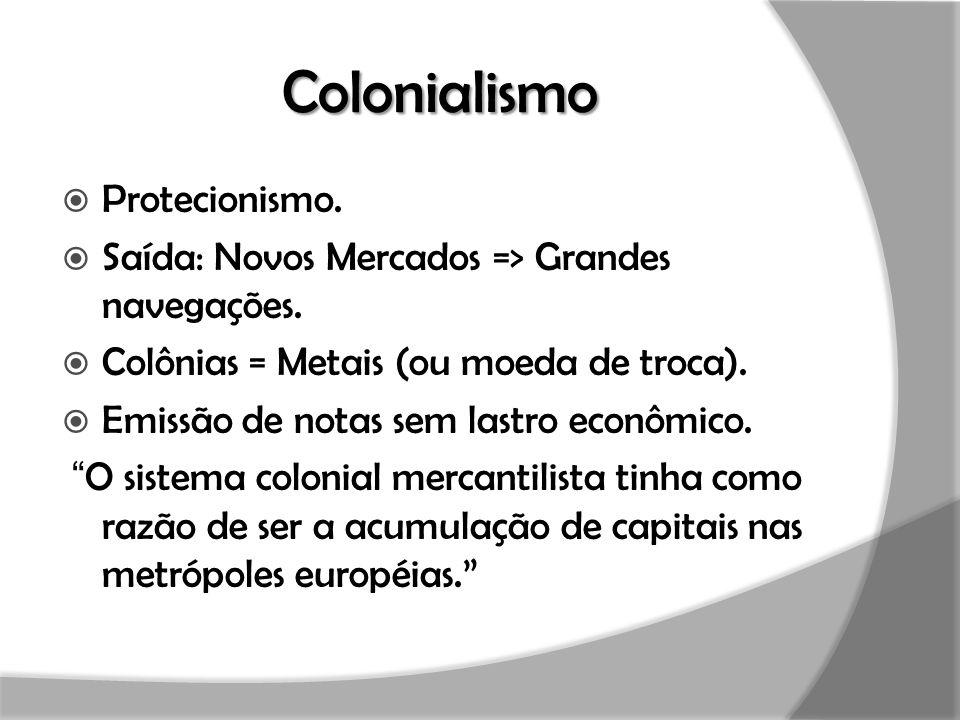 Colonialismo Protecionismo.