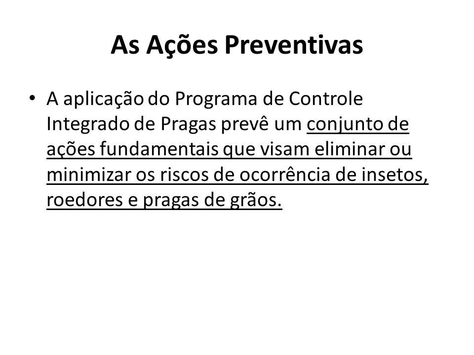 As Ações Preventivas