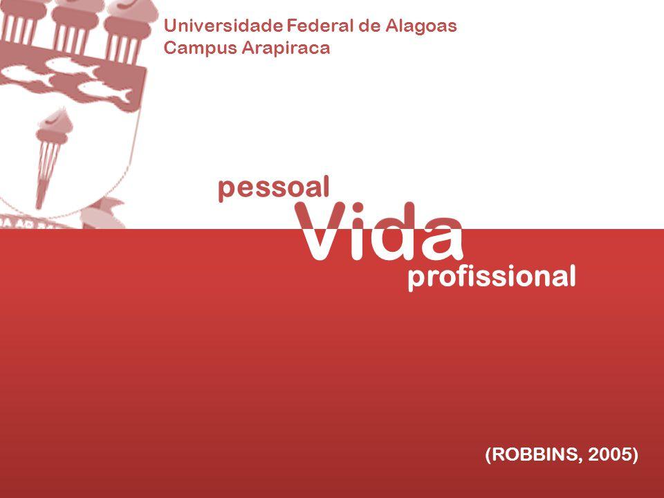 Vida pessoal profissional Universidade Federal de Alagoas