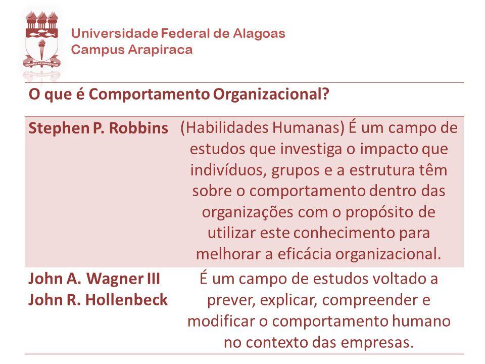 O que é Comportamento Organizacional Stephen P. Robbins