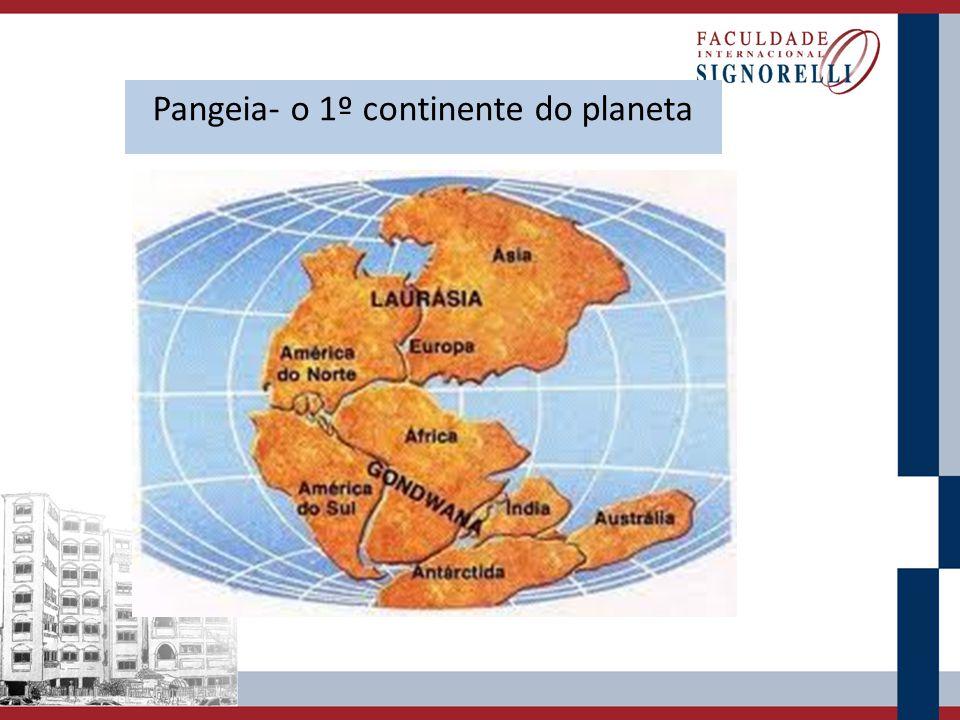 Pangeia- o 1º continente do planeta