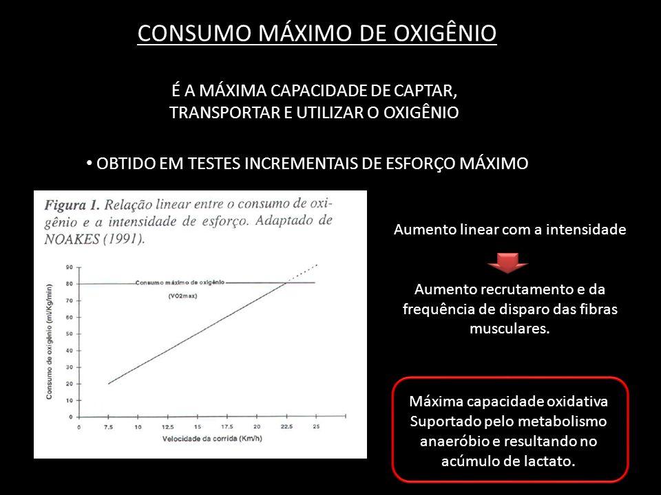 CONSUMO MÁXIMO DE OXIGÊNIO