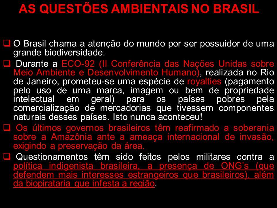 AS QUESTÕES AMBIENTAIS NO BRASIL