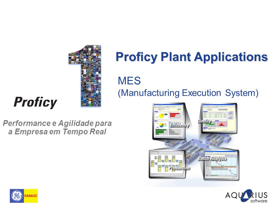 Proficy Plant Applications