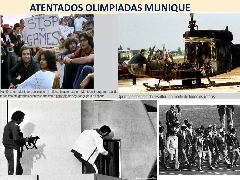 ATENTADOS OLIMPIADAS MUNIQUE