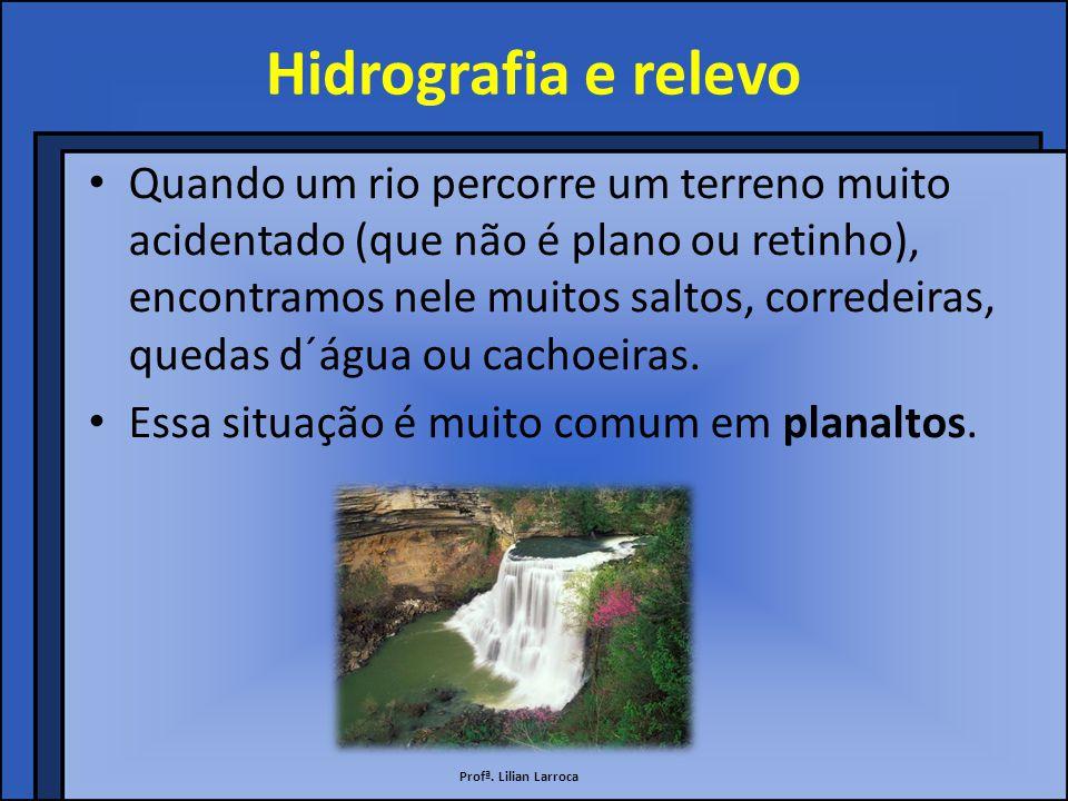 Hidrografia e relevo