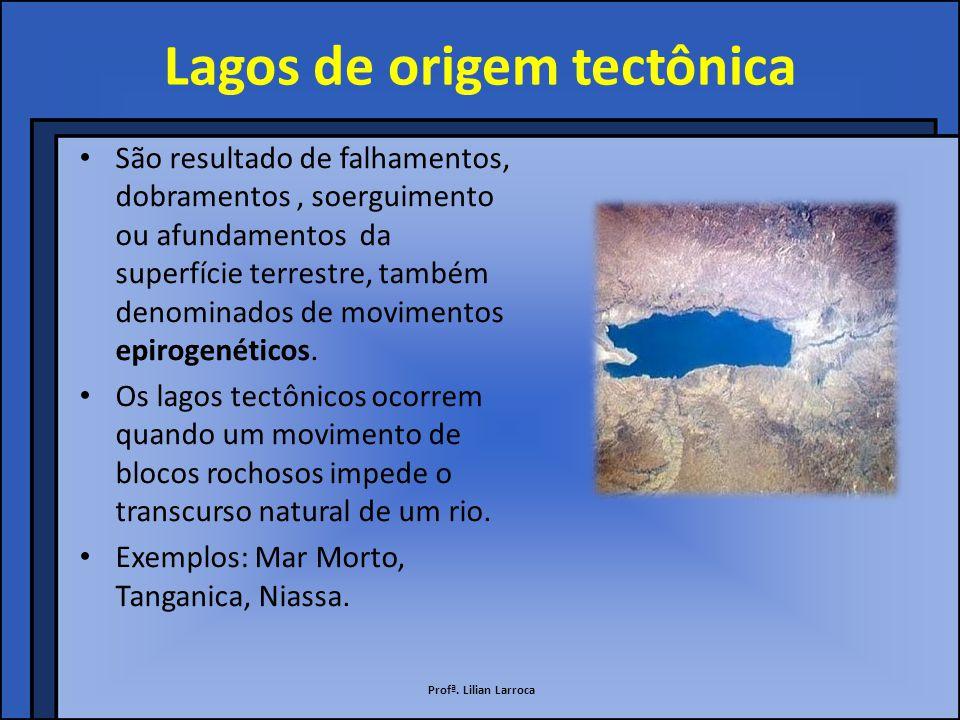 Lagos de origem tectônica