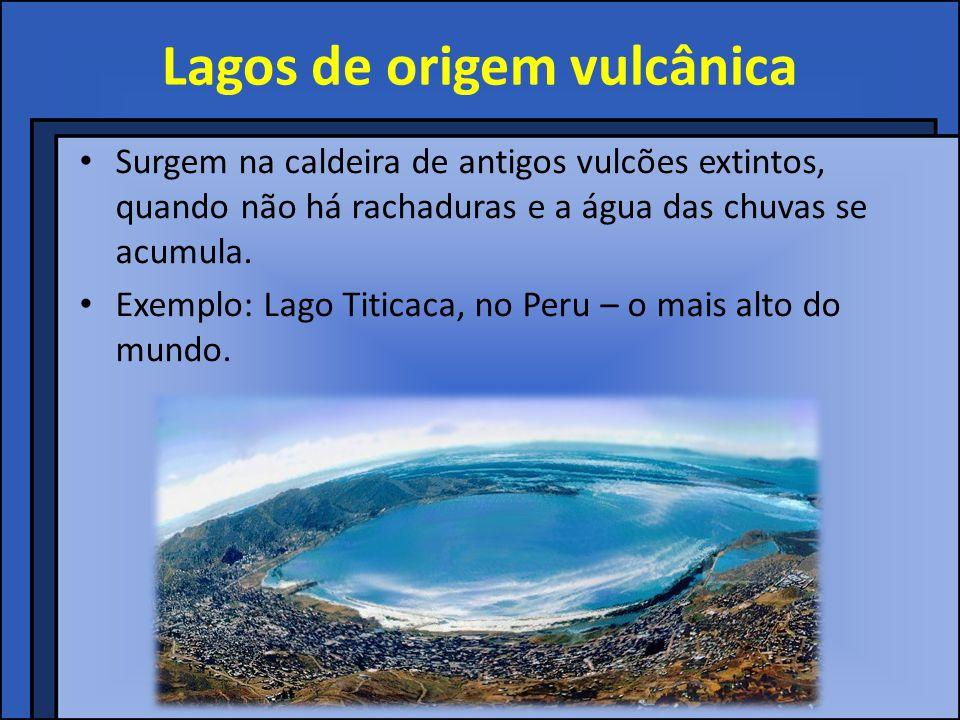 Lagos de origem vulcânica
