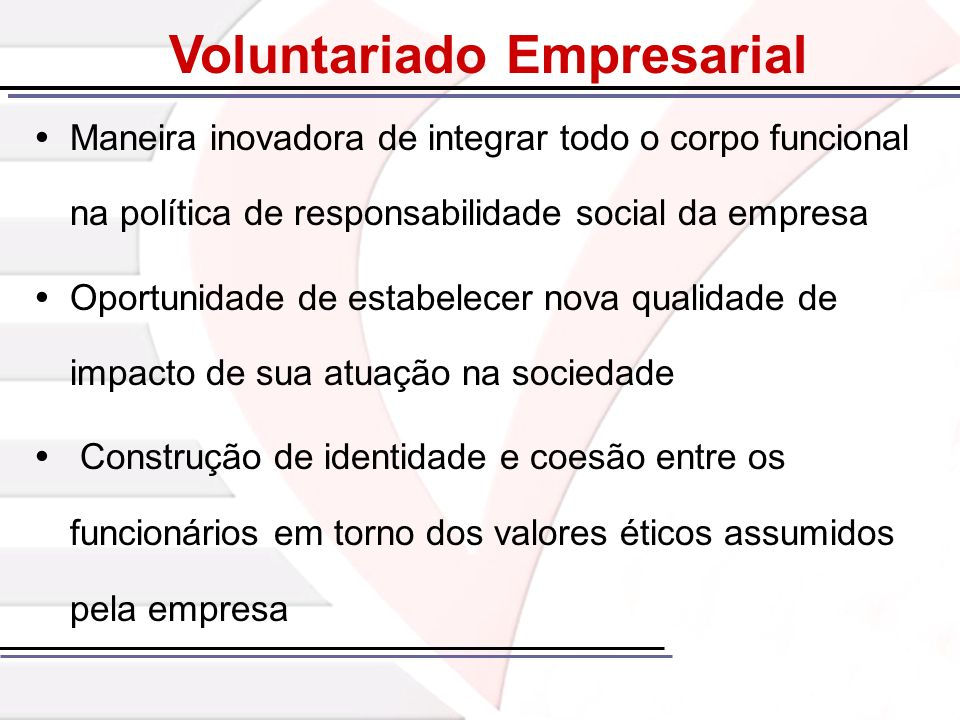 Voluntariado Empresarial