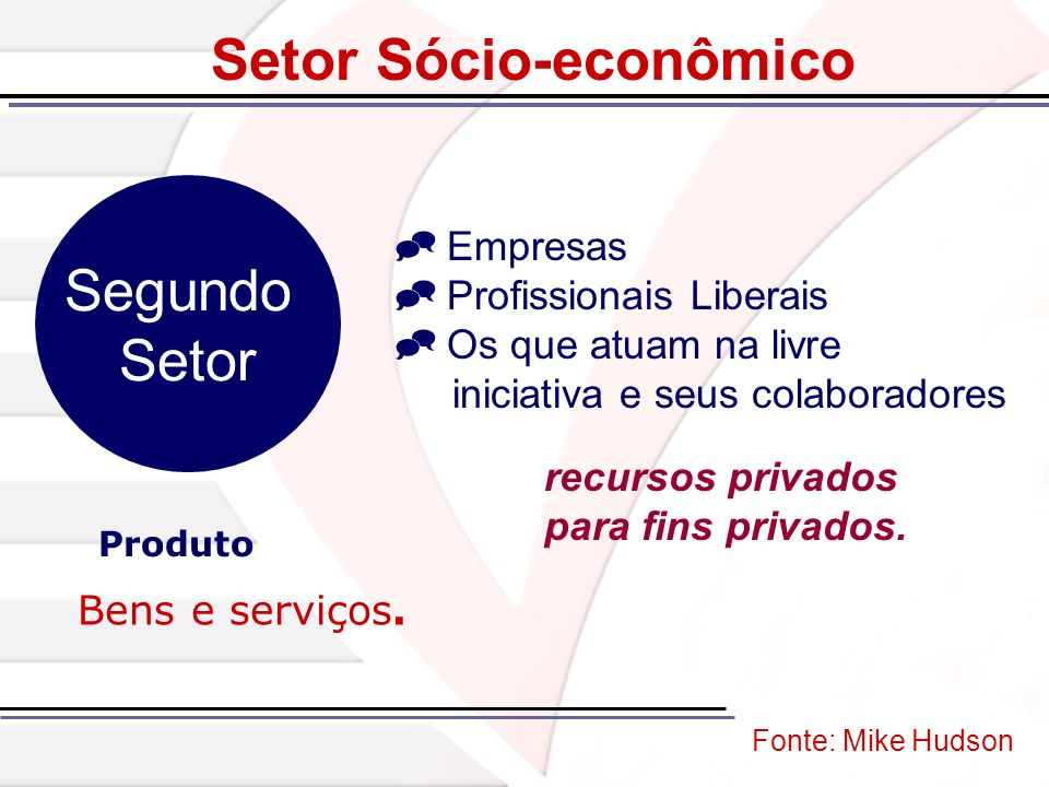 Setor Sócio-econômico