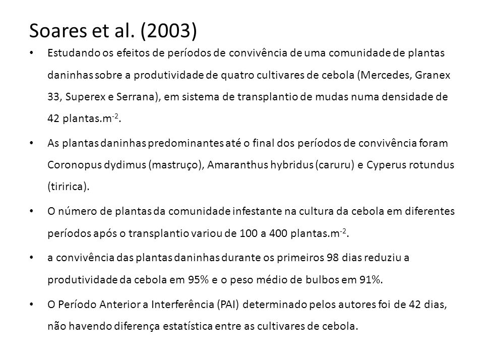 Soares et al. (2003)