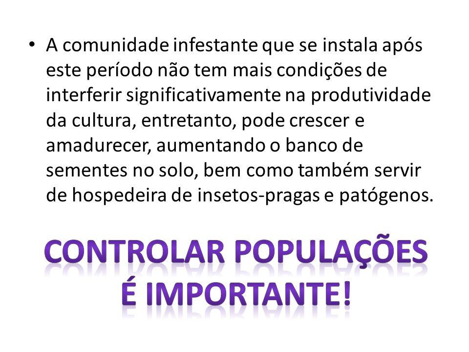 Controlar populações é importante!